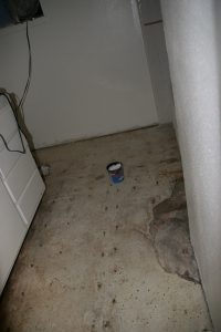 Whats This Black Stuff Under The Linoleum In My Bathroom